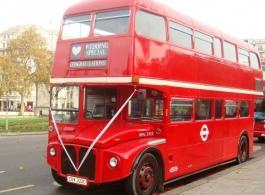 Double Decker London Bus for weddings in Romford